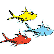 Eureka Paper Cutouts 5 One Fish