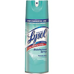 Professional Lysol Lysol Crystl Waters Disinf