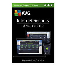 AVG Internet Security 2017 For Unlimited