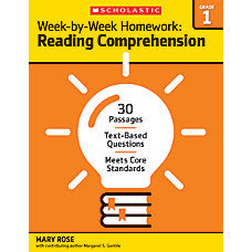 Scholastic Week By Week Homework Reading