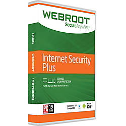 Webroot Internet Security Plus 3 Device
