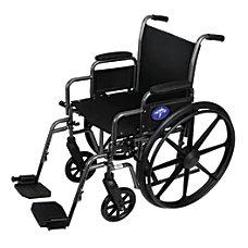 Medline K1 Basic Wheelchair Swing Away