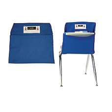 Seat Sack Organizers Small 12 Blue