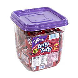 Laffy Taffy Cherry 145 Individually Wrapped