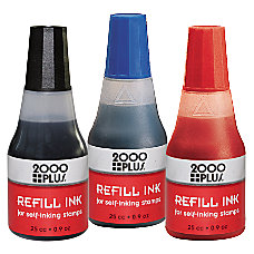 2000 PLUS Self Inking Refill Ink