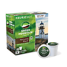 Green Mountain Coffee Pods Nantucket Blend