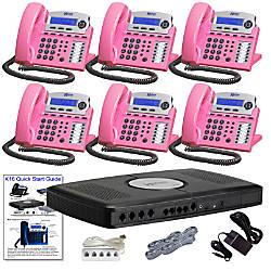 XBLUE X16 Corded Telephone Bundle With