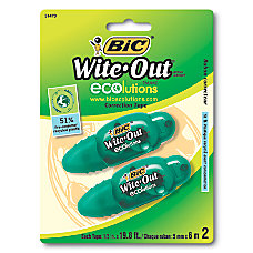 BIC Wite Out ECOlutions Mini Correction