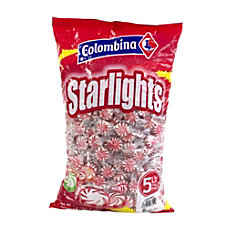 Colombina Pinwheel Starlight Mints 5 Lb
