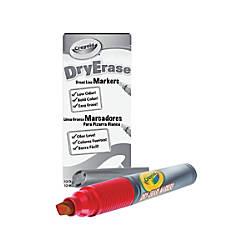 Crayola Dry Erase Markers Chisel Tip