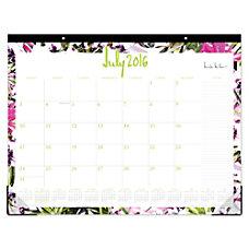 Nicole Miller Monthly Desk Pad Calendar