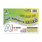 Pacon Self Adhesive Letters 2 White