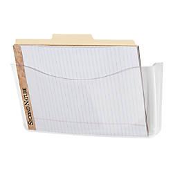 Rubbermaid Unbreakable Single Pocket Wall File