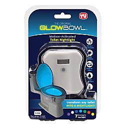 GLOWBOWL Toilet Night Light White