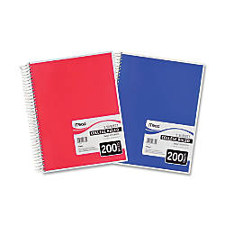Mead Spiral Notebook 8 12 x