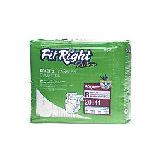 FitRight Restore Briefs Regular Purple 20