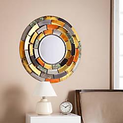Southern Enterprises Baroda Round Decorative Mirror