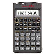Sharp EL 510RB Scientific Calculator