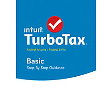 TurboTax Basic Fed Efile 2015 Mac