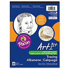 Pacon Art1st Tracing Pad 9 x