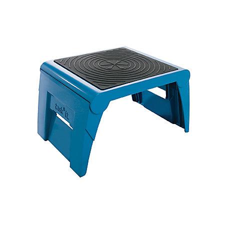 Cramer Task It 1up Folding Step Stool Blue By Office Depot