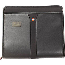 Wenger Vinyl Zip Folio Black