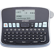 Dymo LabelManager LM360D Label Maker Label