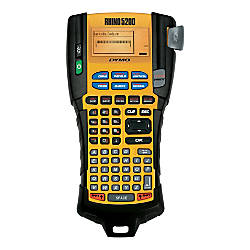 DYMO® Rhino 5200 Industrial Handheld Label Maker Kit