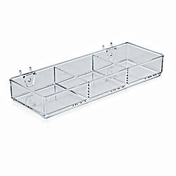 Azar Displays 3 Compartment Tray For