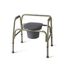 Medline Extra Wide Steel Bariatric Commode