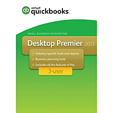 QuickBooks Desktop Premier 2017 3 User