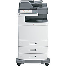 Lexmark X792DTE Color Laser All In