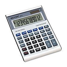 Victor 12 Digit Executive Desktop Financial