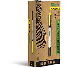 Zebra Pen Highlighter Yellow