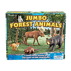 Learning Resources Jumbo Figures Forest Animals