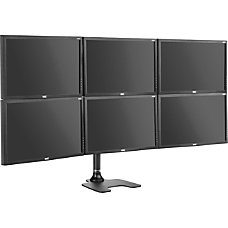 Atdec Spacedec Freestanding 6 monitor Desk