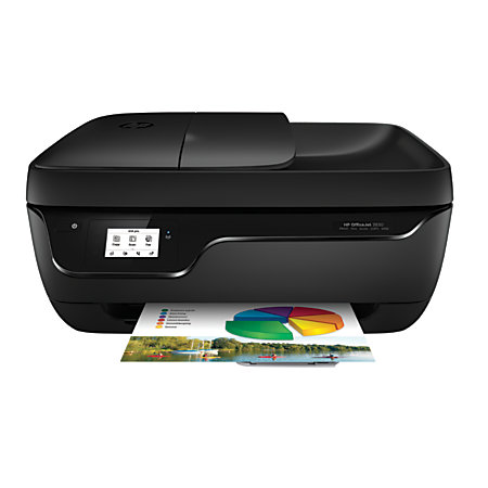 HP OfficeJet 3830 Wireless Color Inkjet All In One Printer Scanner Copier And Fax by Office ...