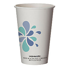 Highmark Breakroom Hot Cups 16 Oz