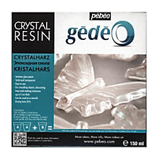 Pebeo Gedeo Crystal Resin 150 mL