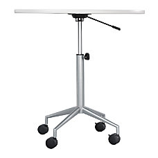 Safco RSVP Pneumatic Height Table Base
