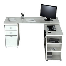 Inval L Shaped Computer Desk 30