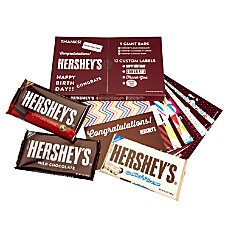 Hersheys Giant Bar Label Kit With