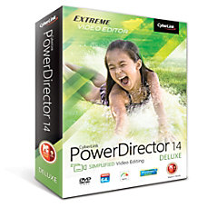 CyberLink PowerDirector 14 Deluxe Download Version