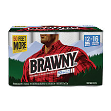 Brawny Pick A Size Perforated Roll