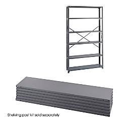 Safco 6 Shelf 48 W Industrial