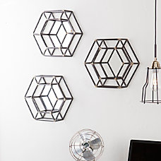 Holly Martin Wyson Honeycomb Wall Mirrors