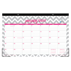 Blue Sky Monthly Fashion Desk Pad