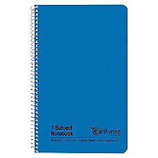 Esselte 100percent Recycled Wirebound Notebook College