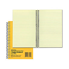 Rediform National Brown Board Cover Notebook