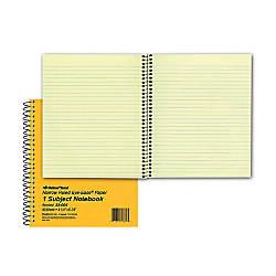 Rediform Brown Board 1 Subject Notebooks